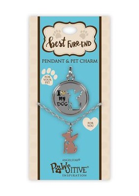 I Love My Dog, Pendant and Charm Set  -