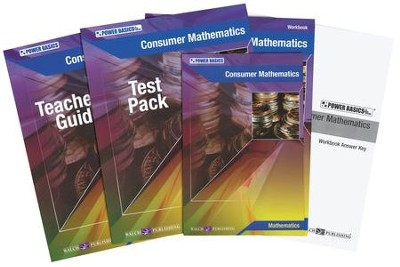 Power Basics Consumer Mathematics Set   -