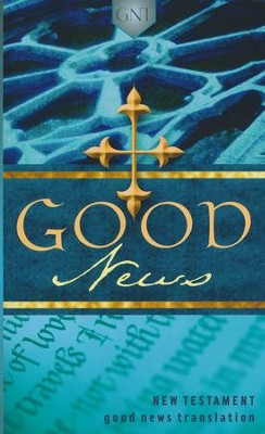 GNT Good News New Testament, Paper, Blue   -