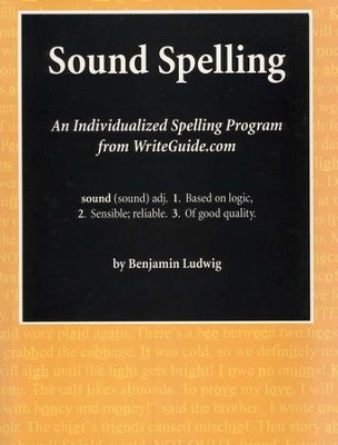 Sound Spelling: An Individualized Spelling Program   -     By: Benjamin Ludwig