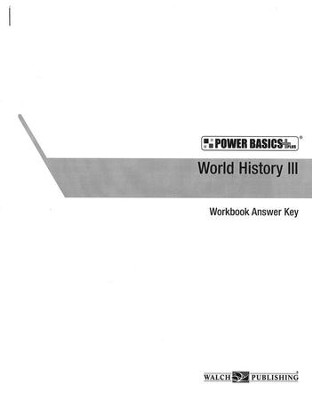 Power Basics World History 3 Set   -