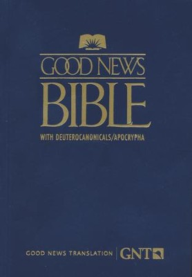 GNT Good News Bible with Deuterocanonicals/Apocrypha, Paper, Blue   -
