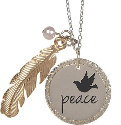 Nature's Grace Peace Pendant  -