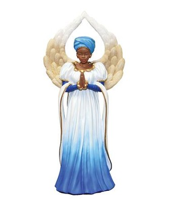 Serenity Angel Figurine, Blue  -