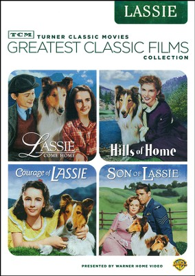 TCM Greatest Classic Films: Lassie (4 Pack on 2 DVD's)   -