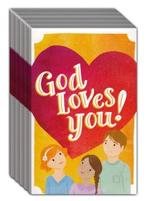 God Loves You! (ESV), Pack of 25 Tracts   -