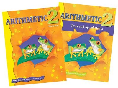 Abeka Grade 2 Homeschool Child Arithmetic Kit  -