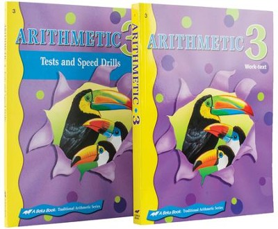Abeka Grade 3 Homeschool Child Arithmetic Kit  -