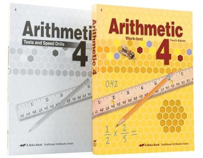 Abeka Grade 4 Homeschool Child Arithmetic Kit   -