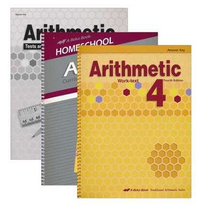 Grade 4 Homeschool Parent Arithmetic Kit  -