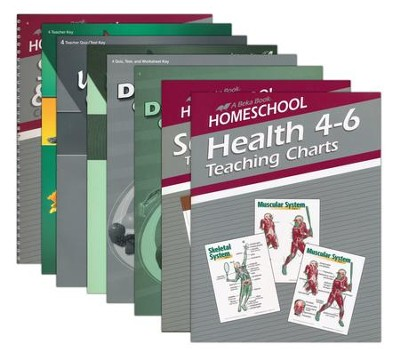 Abeka Grade 4 Homeschool Parent Science/Health Kit  -