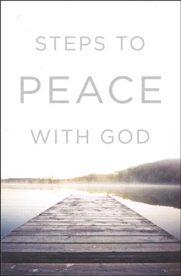 Steps to Peace with God (ESV), Pack of 25 Tracts   -