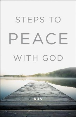 Steps to Peace with God (KJV), Pack of 25 Tracts  -