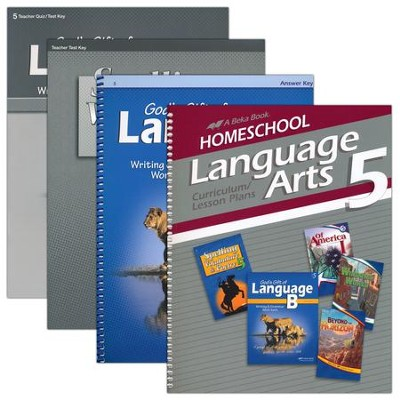 Abeka Grade 5 Homeschool Parent Language Arts Kit  -