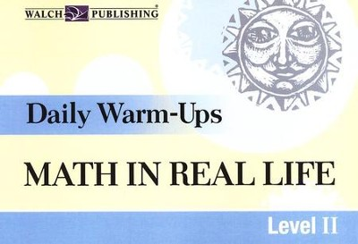 Daily Warm-Ups Math in Real Life, Level 2   -