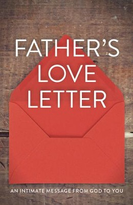 Father's Love Letter, Pack of 25 Tracts   -