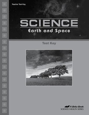 Science: Earth and Space Tests Key   -