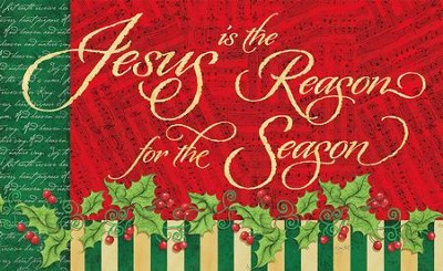 Reason For The Season Door Mat  -