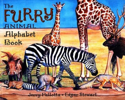 The Furry Animal Alphabet Book   -     By: Jerry Pallotta     Illustrated By: Edgar Stewart