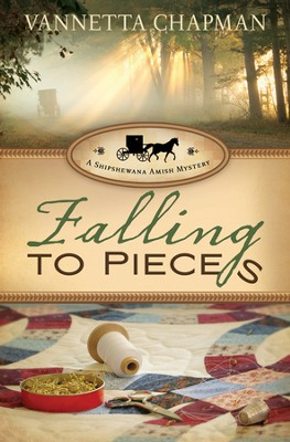 Falling to Pieces: A Quilt Shop Murder - eBook  -     By: Vannetta Chapman