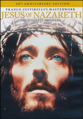 Jesus of Nazareth: The Complete Miniseries:  40th Anniversary Edition, DVD  -