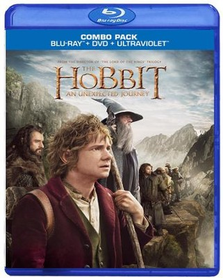 The Hobbit: An Unexpected Journey, Blu-ray/DVD Combo   -