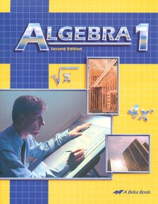 Abeka Algebra 1, Second Edition   -