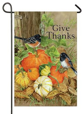 Give Thanks Flag, Small  -