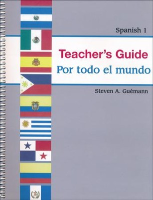 Abeka Por todo el mundo Spanish Year 1 Teacher Guide   -