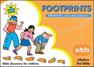 XTB 6: Footprints  -     By: Alison Mitchell