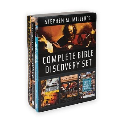 Stephen M. Miller's Complete Bible Discovery Set  -     By: Stephen M. Miller