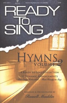 Ready to Sing Hymns, Volume 2   -