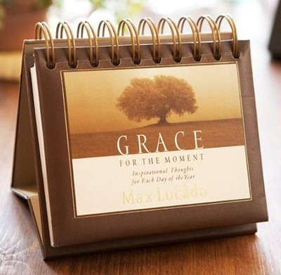 Grace For the Moment, DayBrightener, Perpetual Calendar   -     By: Max Lucado