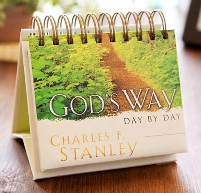Gods Way Day by Day, DayBrightener, Perpetual Calendar   -     By: Charles F. Stanley