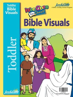 Toddler Bible Visuals: Wee Ones for Christ   -