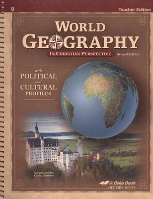 Abeka World Geography in Christian Perspective Teacher   Edition  -