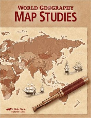 World Geography Map Studies Book   -