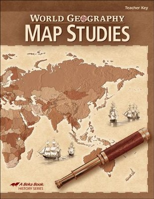 Abeka World Geography Map Studies Teacher Key   -