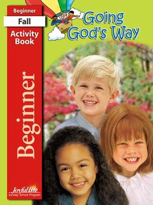 Going God's Way Beginner (ages 4 & 5) Activity Book   -