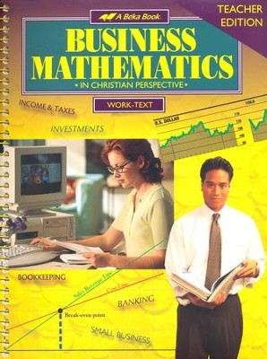 Abeka Business Mathematics Teacher Edition   -