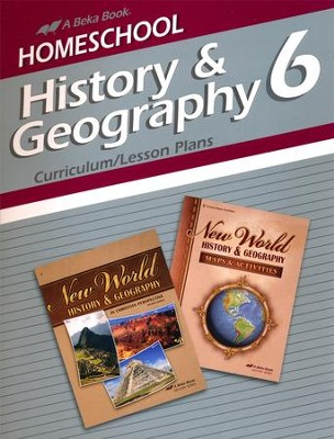 Abeka Homeschool History & Geography 6 Curriculum/Lesson  Plans   -