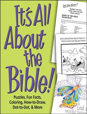 It's All About the Bible! Activity Book  -