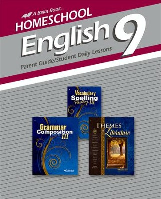 Abeka Homeschool English 9 Curriculum/Lesson Plans   -
