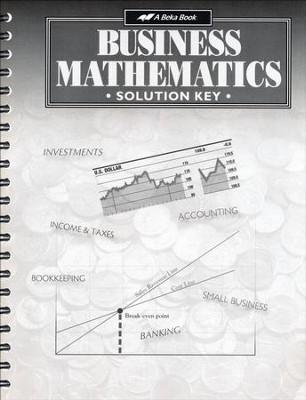 Abeka Business Mathematics Solution Key   -