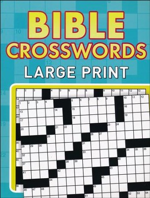 Bible Crosswords--Large Print Edition   -
