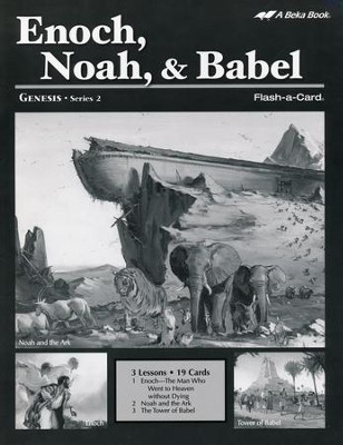 Enoch/Noah/Babel Extra Lesson Guide   -