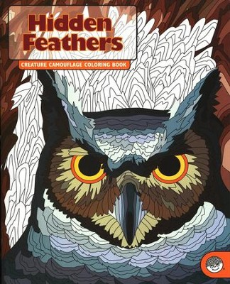 Hidden Feathers: Creature Camouflage Coloring Book   -
