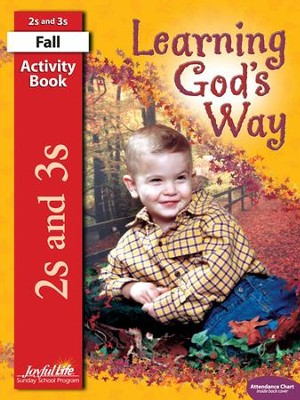 Learning God's Way (ages 2 & 3) Activity Book   -