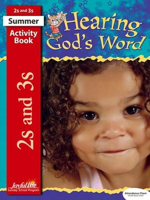 Hearing God's Word (ages 2 & 3) Activity Book   -