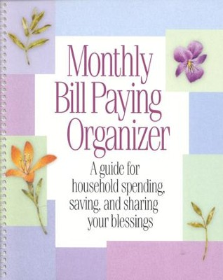 Monthly Bill-Paying Organizer - Christianbook.Com